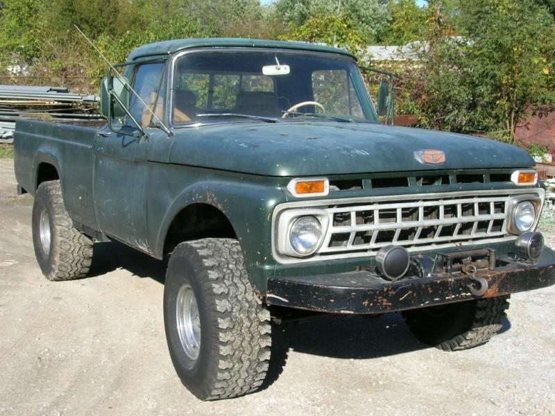 1965 65 Ford F100 F 100 F-100 4x4 vintage barn find antique barn ...
